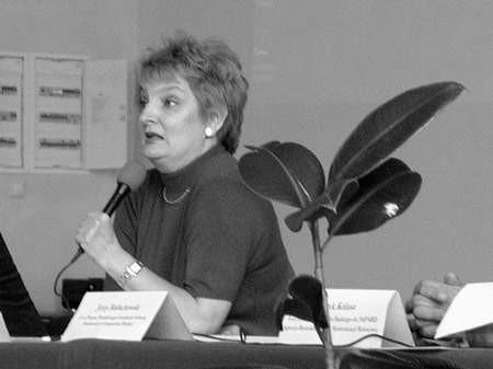 Profesor Małgorzata Duczkowska-Piasecka zachęcała do wykorzystywania unijnych funduszów strukturalnych. FOTO: JAKUB MORKOWSKI