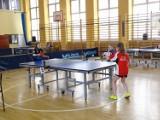 Chełmno - tenis stołowy. Drużynowe Mistrzostwa Województwa Kujawsko-Pomorskiego Żaków. Zdjęcia