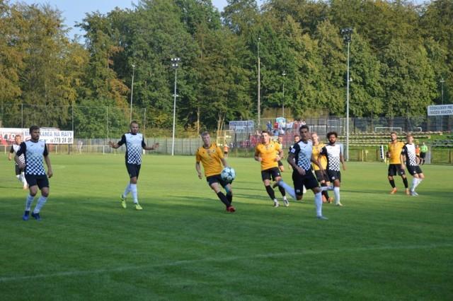 W pierwszym meczu pomiędzy Bytovią a Gryfem padł remis 1:1