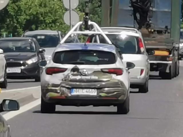 Samochody Google Maps we Włocławku