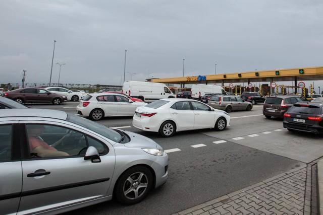 Korki na A1 zwykle tworzą się przy bramkach wjazdowych i zjazdowych