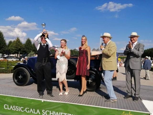 - Tak to właśnie spełniły się kolejne marzenia. Zdobyliśmy pierwsze miejsce w Classic-Gala Schwetzingen - wyznaje Łukasz Waszak z Inowrocławia