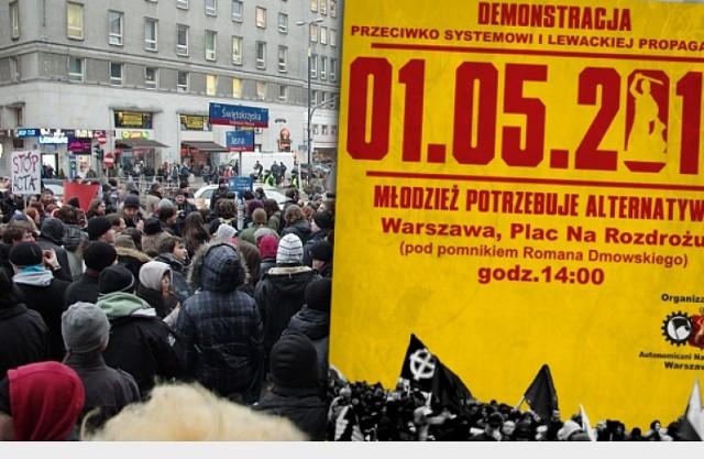 Autonomiczni Nacjonaliści zaprotestują 1 maja 2012 r.