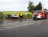 Wypadek w Murczynie (gmina Żnin). Pasażer jednego z samochodów zginął na miejscu