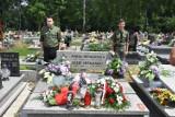Pomnik powstańca spoczywającego na jastrzębskim cmentarzu odznaczony. Ppor. Józef Hetmański był jednym z dowódców III Powstania Śląskiego