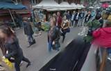 Mieszkańcy Katowic na zdjęciach Street View
