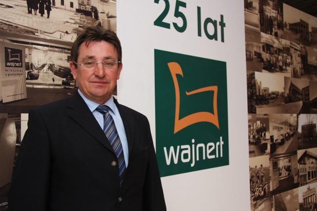 Wiesław Wajnert podkreśla, ze do sukcesu dochodzi się wytrwałością i ciężką pracą