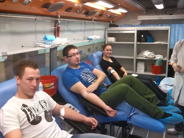 Galeria Krotoszyńska - Honorowe oddawanie krwi