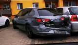 W Kostrzynie nad Odrą kierowca mercedesa rozbił pięć aut na parkingu na ul. Słonecznej