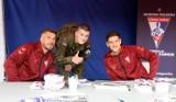 Łukasz Podolski i Erik Janża spotkali się z kibicami - zobacz ZDJĘCIA. To była nie lada gratka dla kibiców Górnika Zabrze