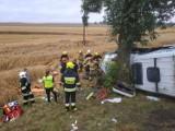 Województwo lubelskie: dwie osoby zginęły, dziewięć zostało rannych. Podejrzany o spowodowanie wypadku usłyszał zarzuty