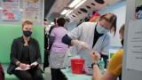 Wieluń. Niedzielna zbiórka krwi zakończona sukcesem. W akcji udział wzięło 57 osób  ZDJĘCIA