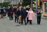 Przemarsz, uroczysty apel i śpiewanie pieśni patriotycznych podczas Święta Niepodległości w Trąbkach Wielkich [ZDJĘCIA]