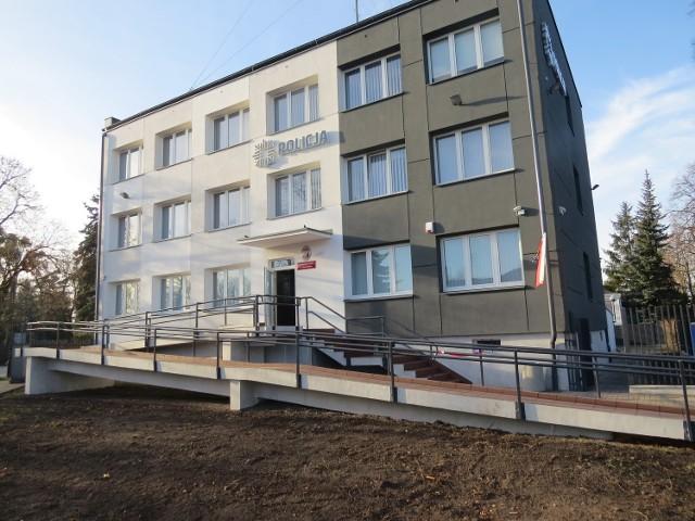 Budynek Komisariatu Policji w Ciechocinku  zmienił się nie do poznania