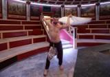 Mistrzostwa Świata Saunamistrzów w Termach Rzymskich w Czeladzi w woj. śląskim. 80 saunamistrzów walczy w saunie Colosseum o tytuł mistrza