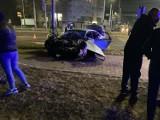 Oto zdjęcia z wypadku na Powstańców Śląskich i Hallera. Pięć osób jest rannych