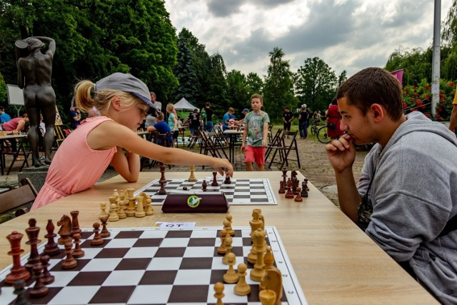 Festiwal szachowy w Parku Śląskim