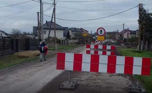 W Bobrku przy budowie obwodnicy nie zadbano o bezpieczeństwo ludzi