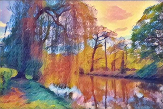 Zobacz, jak mogłyby wyglądać różne zakątki Żagania, gdyby w różnych stylach namalowali je artyści.