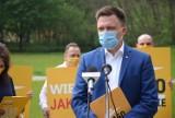 Szymon Hołownia: Chcemy pomóc w poprawie bilansu drzew w Gorzowie