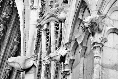 Z jakich zabytków i relikwii słynie Katedra Notre Dame?