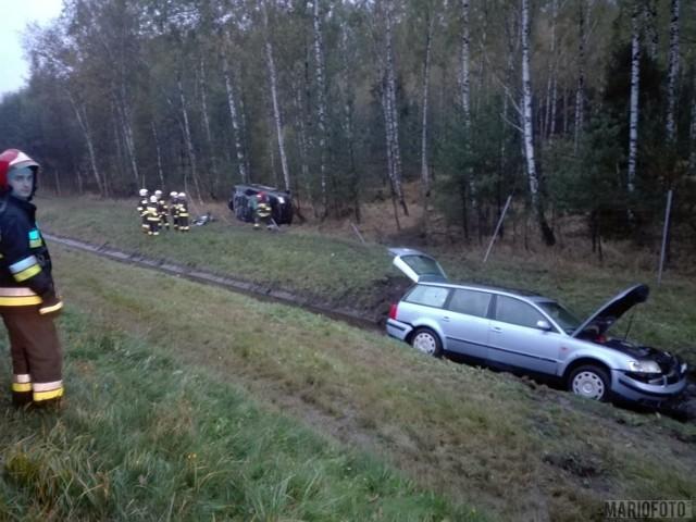 Do kolizji doszło na 240. km autostrady A4 w kierunku Katowic (na wysokości Prószkowa).