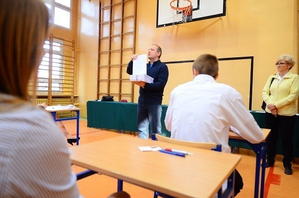 Egzamin gimnazjalny w Gimnazjum nr 50