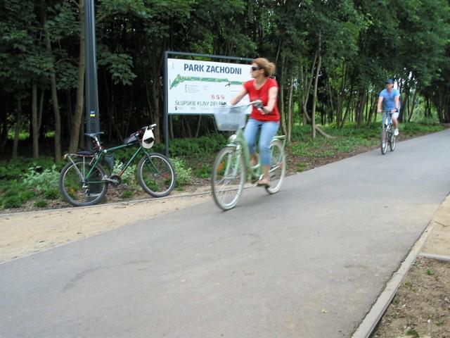 Park Zachodni na Zatoru to 3-hektarowy obszar zagospodarowany z myślą amatorach czynnego wypoczynku, m.in. o  rowerzystach