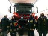 Strażacy w Jantarze z nowym sprzętem. Jednostka została zaopatrzona w specjalistycznego drona