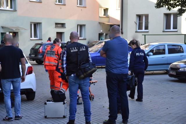 Dramat rozegrał się we wtorek 5 października po godz. 9 w bloku przy ul. Krakowskiej