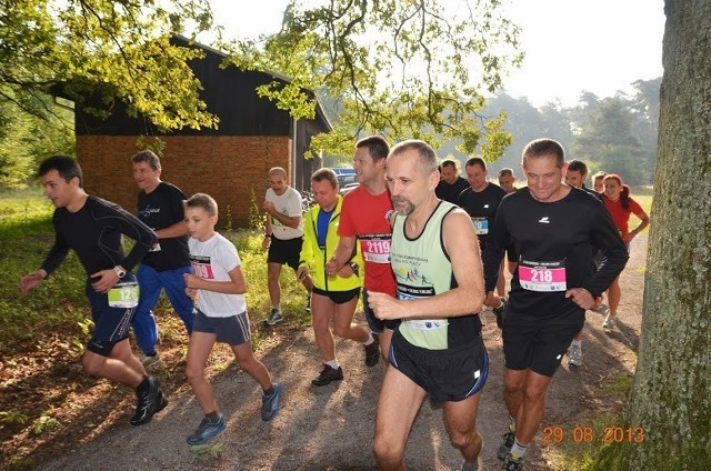 Otwarcie nowej trasy Półmaratonu Leśnego