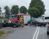 Wypadek w Starzynie: skrzyżowanie (ul. Pucka z ul. Długą) znowu dało o sobie znać | NADMORSKA KRONIKA POLICYJNA