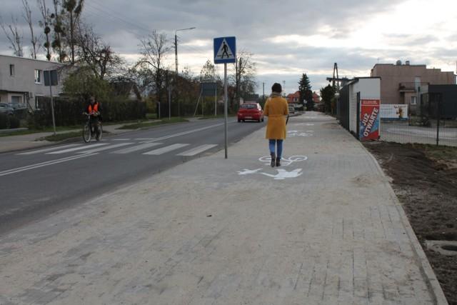 W Unisławiu już cieszą się ze ścieżki rowerowej. Chcą móc nią pojechać m.in. do różnych miejscowości powiatu