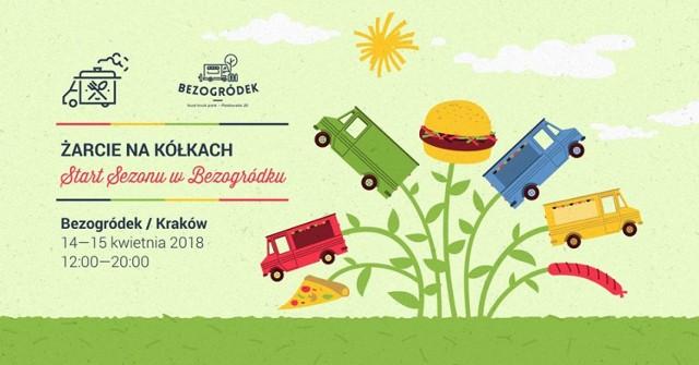 Wraz z piękną pogodą na zewnątrz pojawiają się nie tylko spacerowicze, ale również foodrucki. Tych na pewno nie zabraknie w Bezogródku, który w ten weekend otworzy sezon na pyszne jedzenie na świeżym powietrzu!  Kiedy: 14-15 kwietnia 2018, sobota i niedziela Gdzie: Bezogródek food truck park, Piastowska 20, 30-065 Kraków