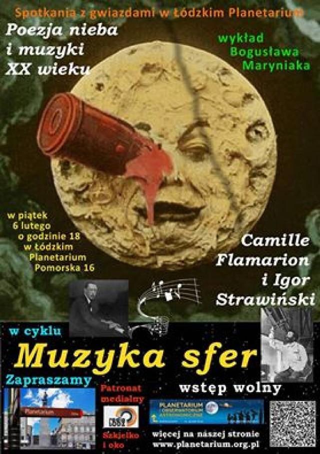 Wykład Muzyka Sfer w Planetarium w Łodzi
