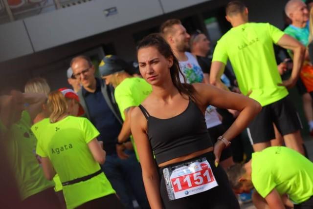 W zawodach Green Run w Inowrocławiu nie brakowało w nim pięknych uczestniczek