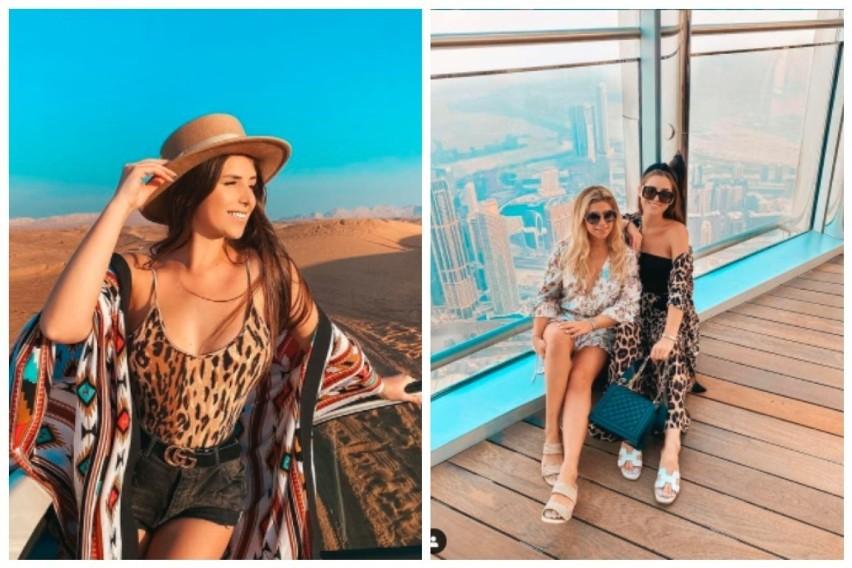Ola Nowak wypoczywa z siostrą w słonecznym Dubaju