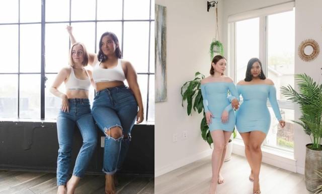 Ty też masz dość, że ubrania reklamują tylko modelki w rozmiarze XS? Te dziewczyny pokazują, jak te same ciuchy wyglądają na różnych ciałach. Zobacz najlepsze zdjęcia!