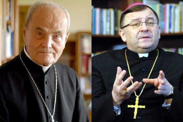 Abp Bolesław Pylak i abp Józef Życiński