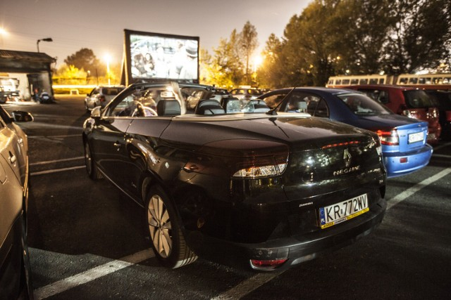 Kino samochodowe w Krakowie
