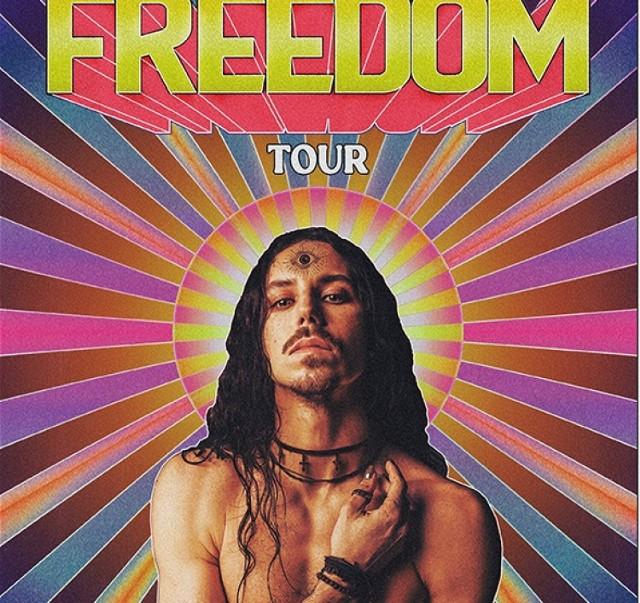 Plakat trasy koncertowej Freedom