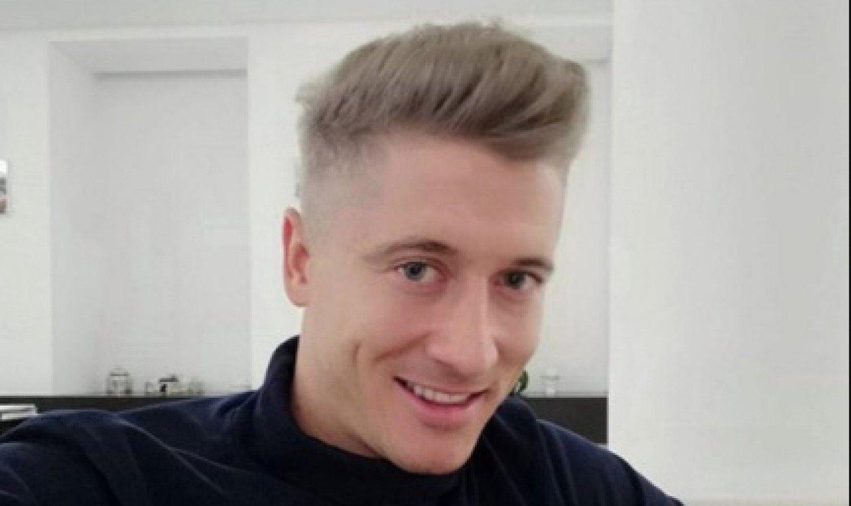 Robert Lewandowski I Jego Nowa Fryzura Podoba Się Zdjęcia