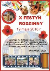 Festyn Rodzinny przy Zespole Szkół Publicznych w Taczanowie Drugim odbędzie się już po raz X! Do zobaczenia w sobotę