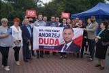 Radomsko: Komitet wyborczy Andrzeja Dudy zajął pas drogowy bez zezwolenia
