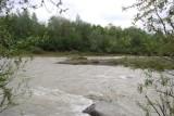 Nowy Sącz. Woda na rzece Kamienica opada [ZDJĘCIA]