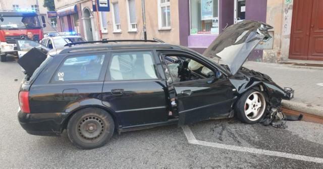 Wypadek na ul. Armii Krajowej w Brzegu.