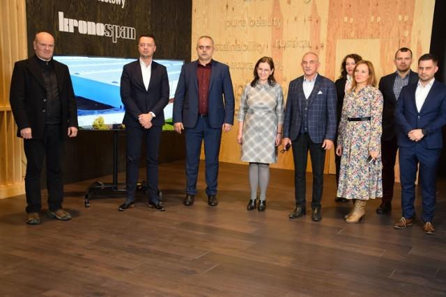 Kronospan podejmował gości z Ogólnopolskiej Izby Przemysłu Meblowego