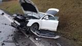 Śmiertelny wypadek na DK6. Nie żyje 90-letni kierowca [ZDJĘCIA]