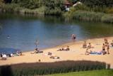 Kraków. Wielkie plażowanie. Bagry, Zalew Nowohucki, staw w Parku Lotników Polskich oblegane [ZDJĘCIA]