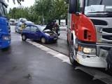 Wypadek w Brzegu na ulicy Krakusa. Dwie osoby poszkodowane